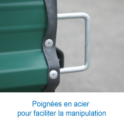 CHARIOT DE TRANSPORT POUR 8 HAIES PRESTIGES/INTERNATIONALES ALUMINIUM