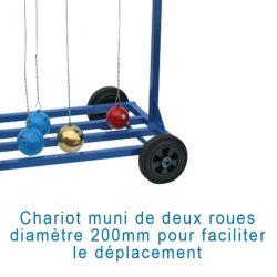 CHARIOT DE TRANSPORT CIRCULAIRE POUR MARTEAUX
