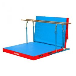 FREE STANDING MIXED BARS WITH ROLLERS AND MATTRESS