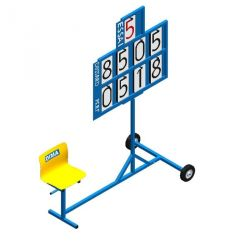 PERFORMANCE INDICATOR CART WITH SEAT