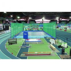 COMPETITION INDOOR SHOT PUT THROWING CAGE 4.00M HIGH CUSTOM-MADE