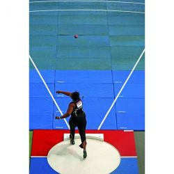 INDOOR SHOT PUT THROWING LANDING SYSTEM 42MM OR 60MM THICK PER SQM