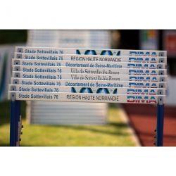 PVC CUSTOMIZED CROSSBAR FOR INTERNATIONAL HURDLE