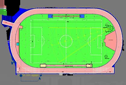 schéma de stade